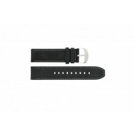 Cinturino per orologio Timex P49988 Pelle Nero 22mm
