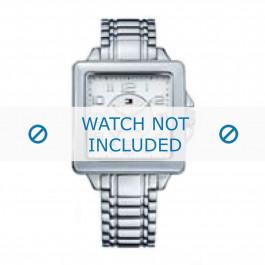Tommy Hilfiger cinturino dell'orologio TH-65-3-14-0757 / TH1780825 Metallo Argento