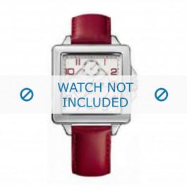 Cinturino per orologio Tommy Hilfiger TH-65-3-14-0786 Pelle Rosso
