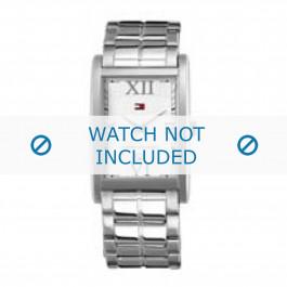 Tommy Hilfiger cinturino dell'orologio TH-67-1-14-0760 Metallo Argento