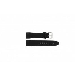 Cinturino per orologio Tommy Hilfiger TH1790833 / TH-175-1-14-1202 Pelle Nero 24mm