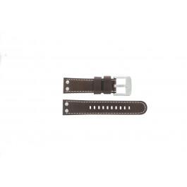TW Steel cinturino orologio TW5 Pelle Marrone 22mm