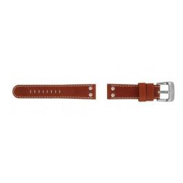 TW Steel cinturino orologio TW24 Pelle Marrone 22mm