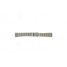 Cinturino per orologio Morellato U0220184 Acciaio Bi-colore 18mm
