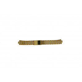 Cinturino per orologio Morellato U0492125 Acciaio Placcato oro 18mm