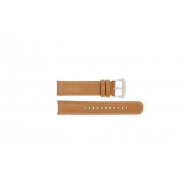 Cinturino per orologio Seiko V172-0AG0 / SSC081P1 Pelle Marrone 21mm