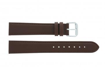 Cinturino per orologio Universale 054R.02.18 Pelle Marrone 18mm