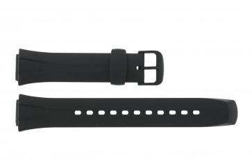 Casio cinturino dell'orologio WVA-105H-1AV / WL-S21H-1AV / WL-S21 / 10125561 Plastica Nero 16mm
