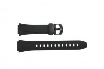 Casio cinturino orologio 10179406 Plastica Nero 18mm