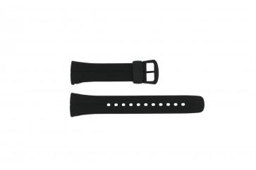Casio cinturino dell'orologio 10187727 / VWA-106HE Plastica Nero 24mm