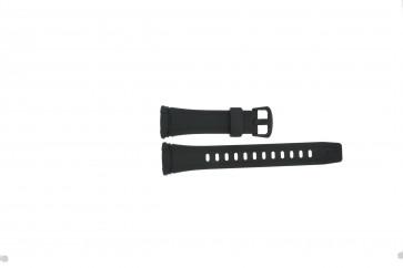 Casio cinturino dell'orologio WVA-109HE / 10283660 Plastica Nero 12mm