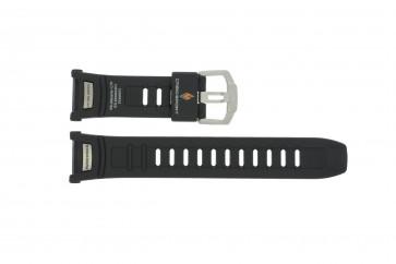 Cinturino per orologio Casio 10290989 Plastica Nero 20mm