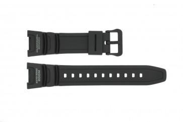 Cinturino per orologio Casio SGW-100-1V10304195 Silicone Nero 24mm