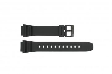 Cinturino per orologio Casio 10365960 Plastica Nero 18mm