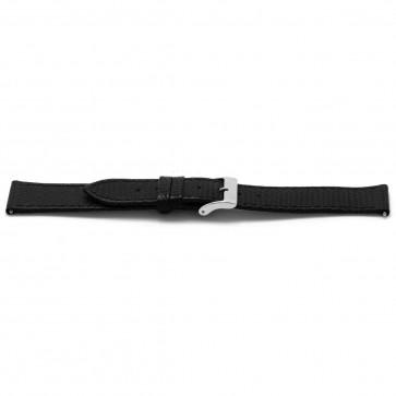 Cinturino orologio Pelle Nero 18mm EX-F133