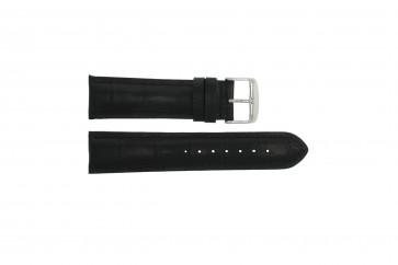 Cinturino per orologio Universale 285R.01 Pelle Nero 20mm