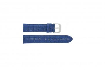 Cinturino per orologio Universale 285R.05 Pelle Blu 20mm
