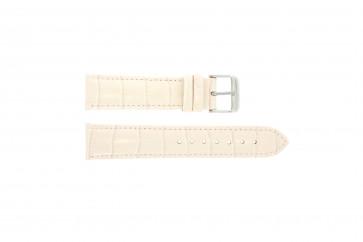 Cinturino orologio in vera pelle di coccodrillo, rosa chiaro, 22mm PVK-285