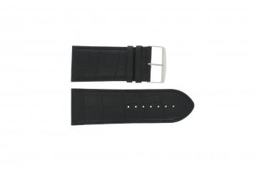 Cinturino per orologio Universale 305.01 Pelle Nero 36mm