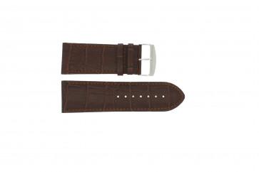 Cinturino per orologio Universale 305.02 Pelle Marrone 24mm