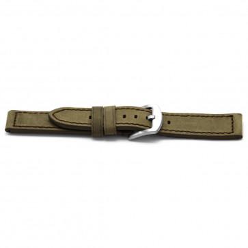 Cinturino per orologio Universale F338 Pelle Taupe 18mm
