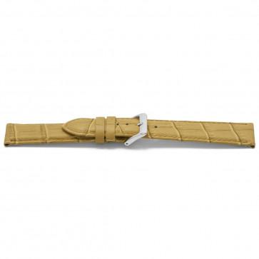 Cinturino orologio in pelle, beige oro, 14mm EX-D339