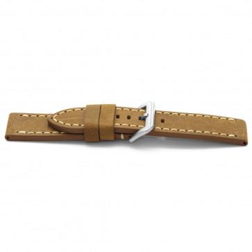 Cinturino per orologio Universale H364 Pelle Marrone 22mm