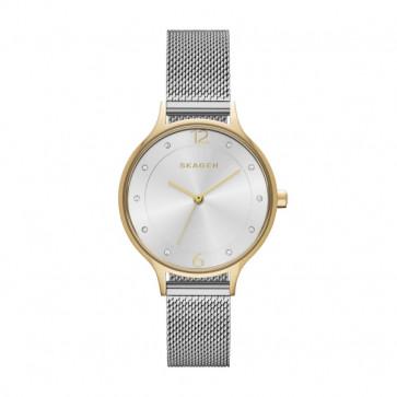 Cinturino per orologio Skagen SKW2340 Acciaio inossidabile Acciaio 18mm