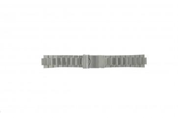 Camel cinturino orologio 1060-1069 Acciaio Argento 20mm