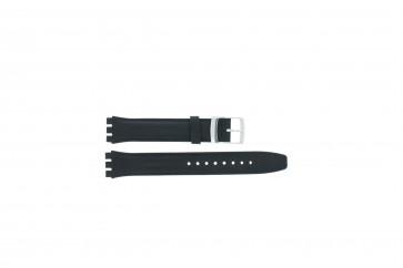 Cinturino per orologio Swatch (alt.) 51643.06.17.C Pelle Blu 17mm
