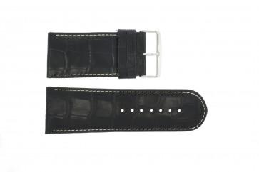 Cinturino per orologio Universale 61324.10.34 Pelle Nero 34mm
