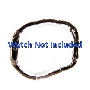 Fossil cinturino orologio ES-3007 Acciaio Oro (Rosé) 16mm