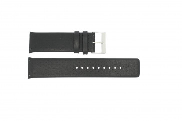 Cinturino per orologio Skagen 806XLTLM / 806XLTBLB Pelle Nero 24mm
