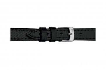 Morellato cinturino dell'orologio Livorno Gen.Tejus D2116372019CR08 / PMD019LIVORT08 In pelle di lucertola Nero 8mm + cuciture di default