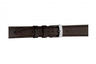 Morellato cinturino dell'orologio Violino Gen.Lizard X2053372030CR10 / PMX030VIOLIN10 In pelle di lucertola Marrone scuro 10mm + cuciture di default