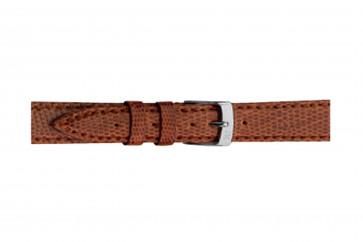 Morellato cinturino dell'orologio Violino Gen.Lizard X2053372041CR10 / PMX041VIOLIN10 In pelle di lucertola Marrone chiaro 10mm + cuciture di default