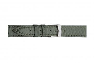 Morellato cinturino dell'orologio Violino Gen.Lizard X2053372091CR10 / PMX091VIOLIN10 In pelle di lucertola Verde chiaro 10mm + cuciture di default