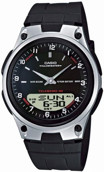 Cinturino per orologio Casio AW-80 / AW82 Plastica Nero 18mm