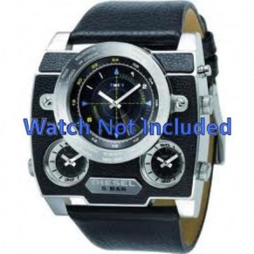 Cinturino per orologio Diesel DZ1243 Pelle Nero 37mm