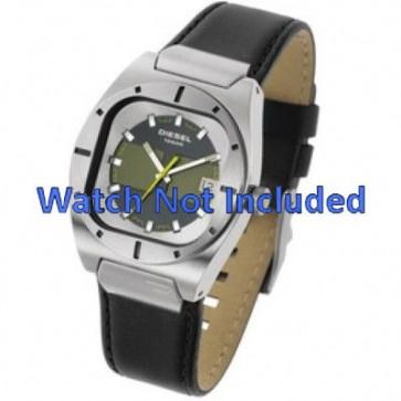 Cinturino per orologio Diesel DZ4112 / DZ4113 Pelle Nero 20mm