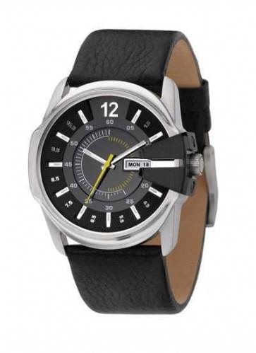 Cinturino per orologio Diesel DZ1295 Pelle Nero 27mm