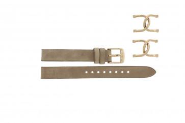 Cinturino per orologio Fossil ES3466 Acciaio Beige 16mm