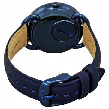 Cinturino per orologio Fossil ES4092 Pelle Blu 16mm