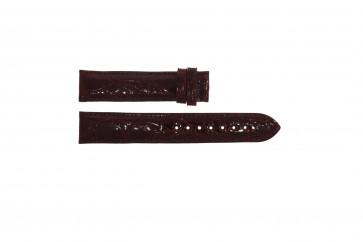 Festina cinturino orologio F16021/4 Pelle Rosso bordeaux 18mm