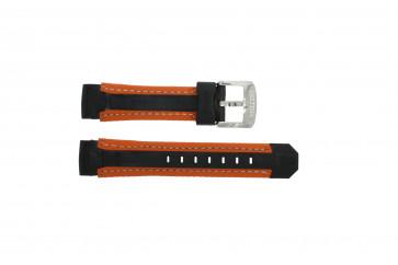 Cinturino per orologio Festina F16274.6 Gomma Arancione 18mm