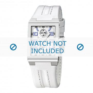 Cinturino per orologio Festina F16224-B Pelle Bianco 14mm