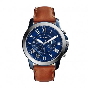 Cinturino per orologio Fossil FS5151 Pelle Marrone 22mm
