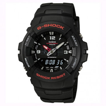 Casio cinturino orologio 10001449 Plastica Nero 16mm