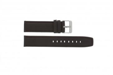 Cinturino per orologio Universale G373 Pelle Marrone 20mm