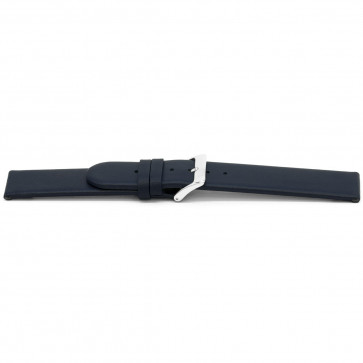 Cinturino orologio in pelle G607 blu, 20mm